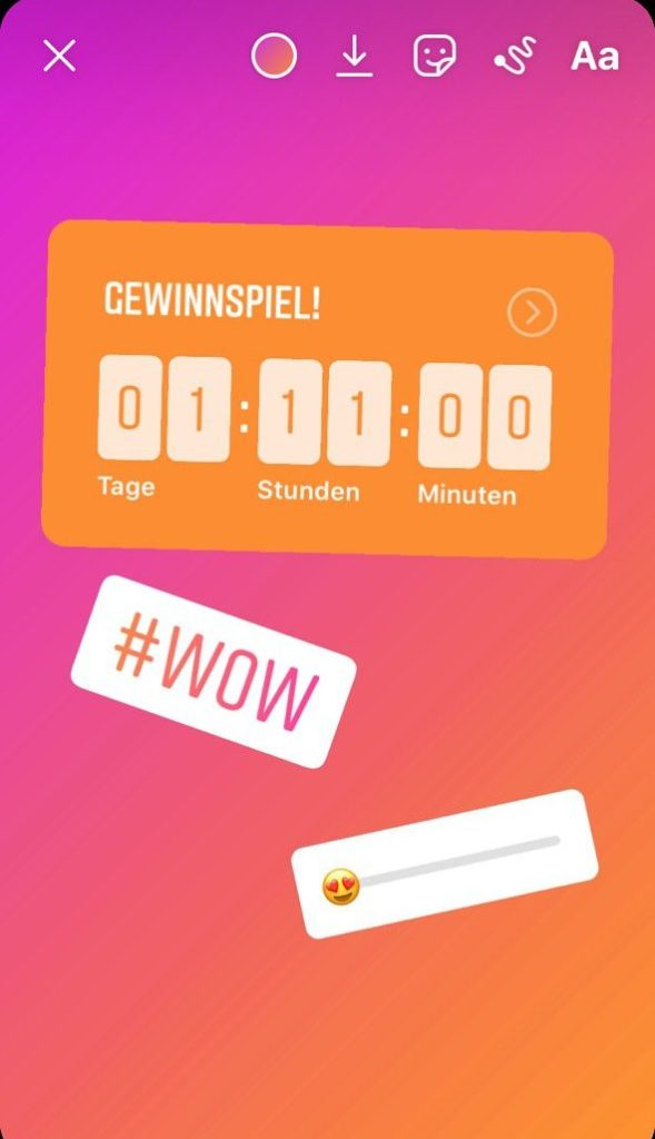 Instagram Story Countdown